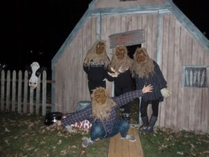 Shed at the Haunted Hayride