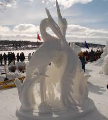 U.S. Snow Sculpting Competition at Lake Geneva's Winterfest 2016