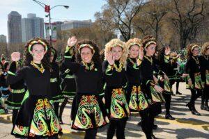 Irish Dancers at the Chicago St. Patricks Day Parade