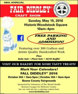 48th annual Fair Diddley in McHenry County on May 15