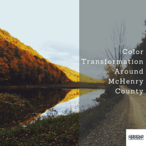 Fall Color Transformation Around McHenry County