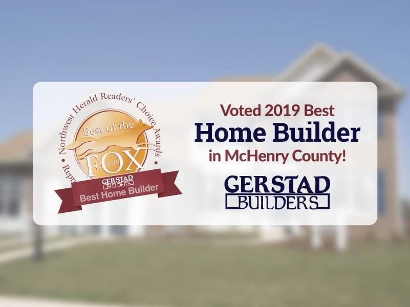 Gerstad Builders Voted 2019 Best Home Builder