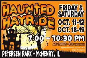 Halloween Haunting Fun on the Haunted Hayride
