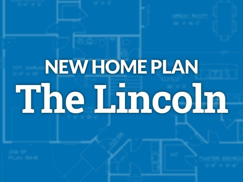 Gerstad Builders New Home Plan The Lincoln