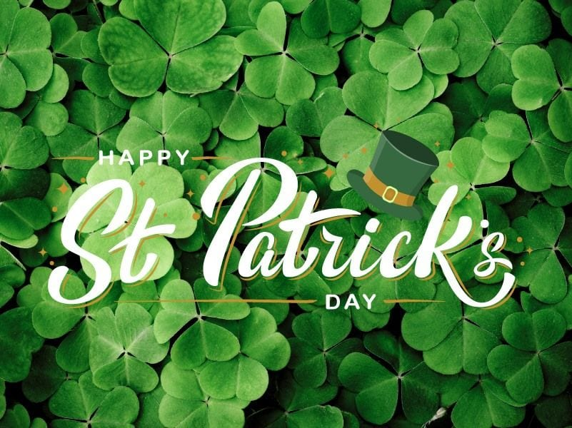 Happy St. Patrick's Day. Come out and celebrate in McHenry, Illinois